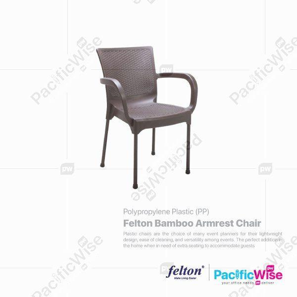 Felton Bamboo Armrest Chair (FLT-2038)