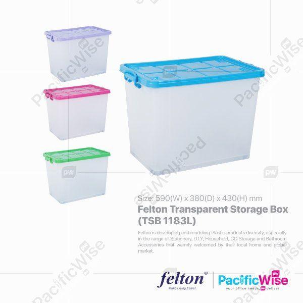 Felton Transparent Storage Box (TSB 1183L)