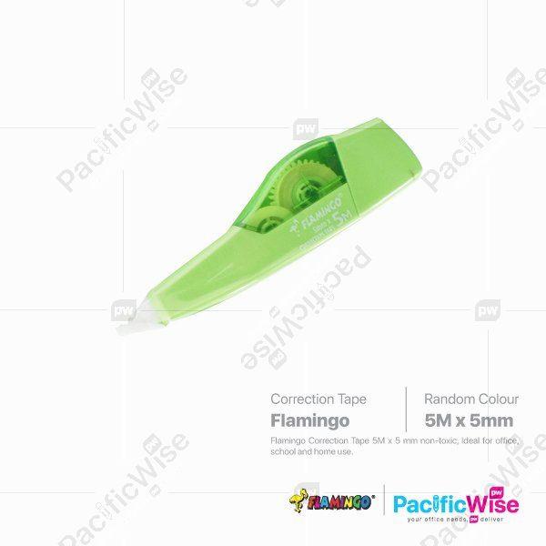 Flamingo Correction Tape 5MM X 5M (FLAM-411)
