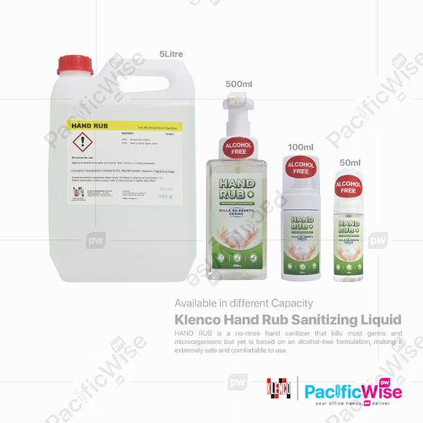 Klenco Hand Rub Sanitizing Liquid