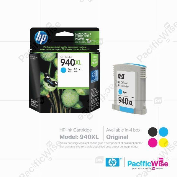 HP High Yield Ink Cartridge 940XL (Original)