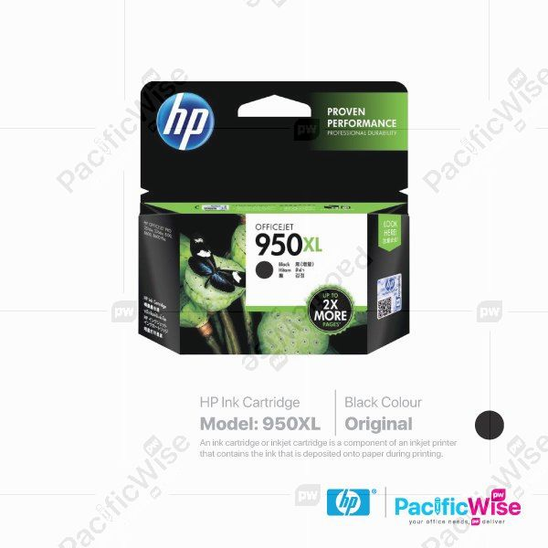HP High Yield Ink Cartridge 950XL (Original)