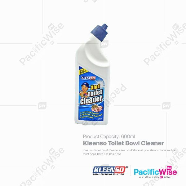 Kleenso Toilet Bowl Cleaner (600ml)