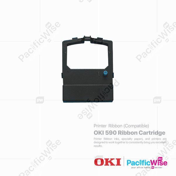 OKI 590 Ribbon Cartridge (Compatible)