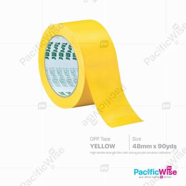 Opp Tape Yellow (48mm x 90yds)
