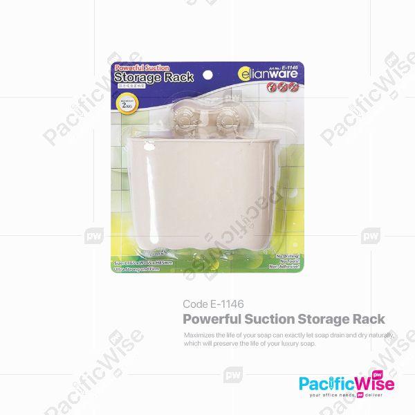 Powerful Suction Storage Rack