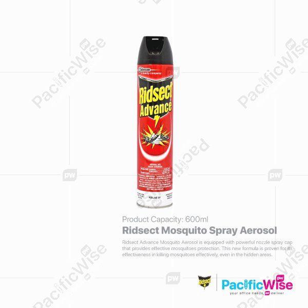 Ridsect Mosquito Spray Aerosol (600ml)