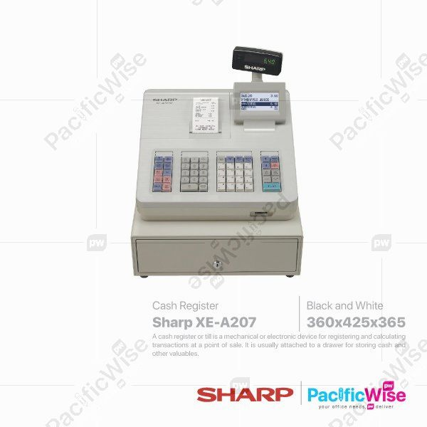 Sharp Cash Register (XE-A207)