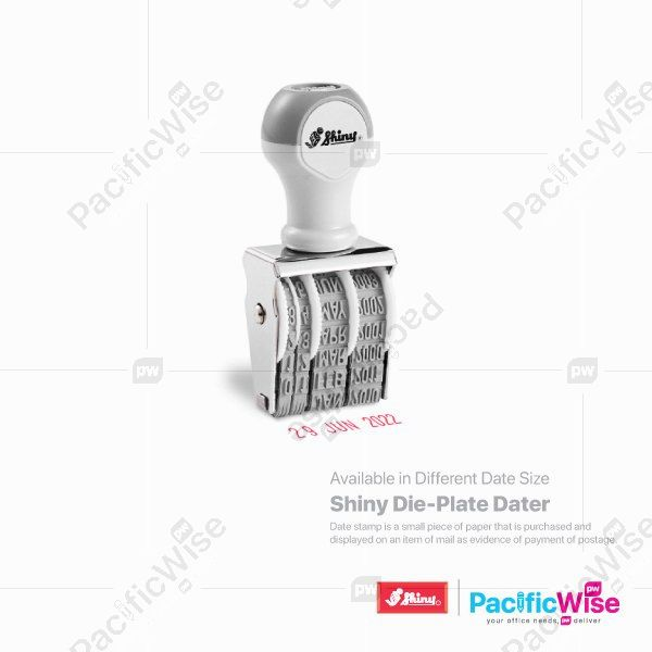 Shiny Die-Plate Dater Stamp