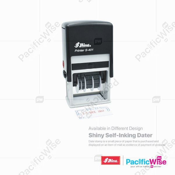 Shiny Self-Inking Dater