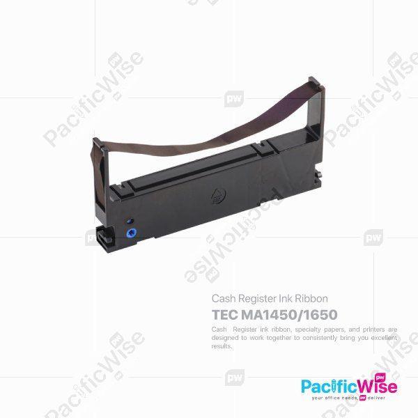 TEC MA1450/1650 Cash Register Ink Ribbon