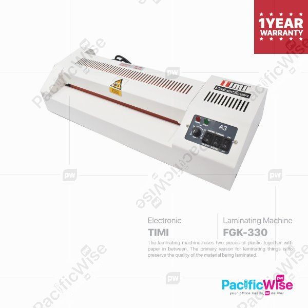 TIMI Laminating Machine (TIMI TL-330/FGK-330)