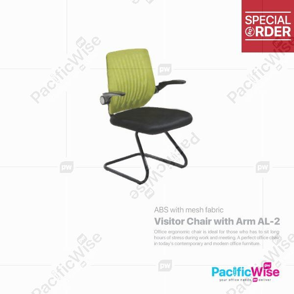 Visitor Chair with Arm AL-2