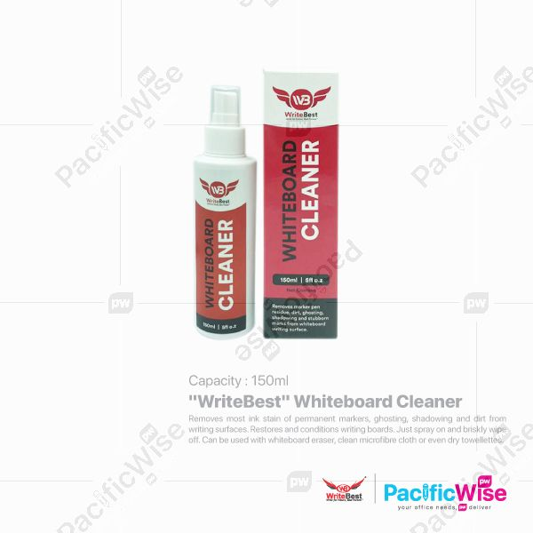 WriteBest Whiteboard Cleaner 150ml