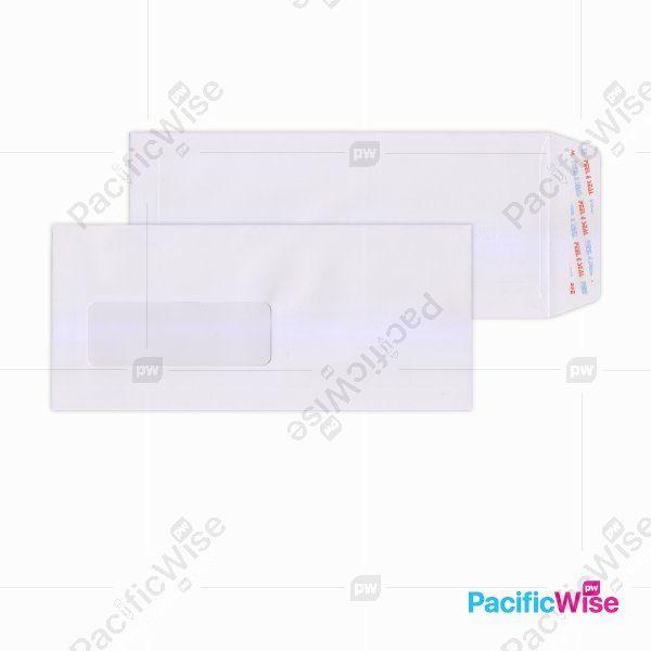 White Envelope (Window) 9