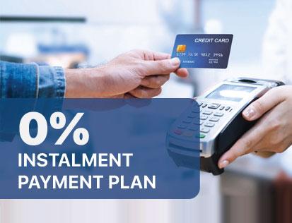 0% Instalment Payment Plan
