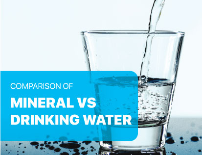Difference between Mineral Water & Drinking Water
