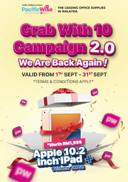 Grab With 10 Campaign