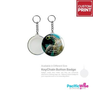 Customized Printing Button Badge (Keychain)