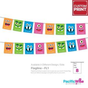 Customized Printing Flagline (FL1)