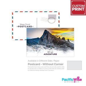 Customized Printing Postcard (Without Corner)