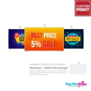 Customized Printing Wobbler (WB01)