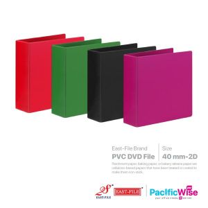 East File PVC DVD File