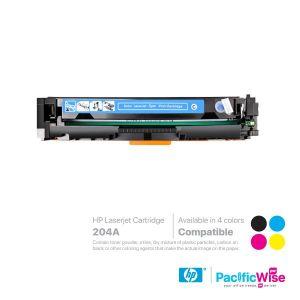 HP 204A LaserJet Toner Cartridge CB510A ~ CB513A (Compatible)