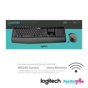 Logitech Wireless Keyboard & Mouse MK345