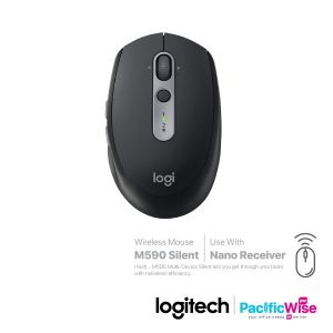 Logitech Multi Device Wireless Mouse M590 Silent