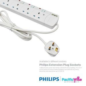 Philips Extension Plug Sockets White Heavy Duty