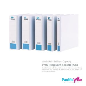 East File 2D Ring File PVC
