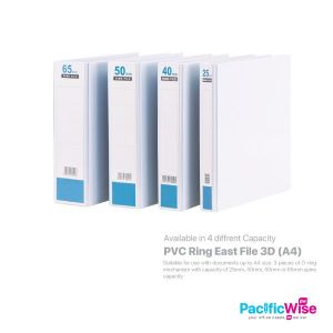 East File 3D Ring File PVC