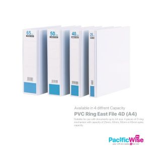 East File 4D Ring File PVC