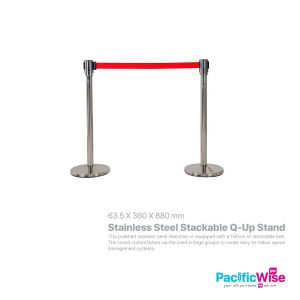 Stainless Steel Stackable Q-Up Stand