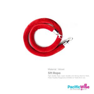 5FT Velvet Rope